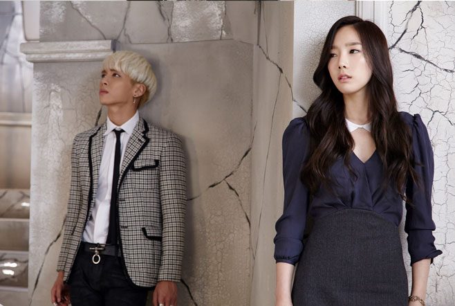 [140210] Taeyeon (SNSD) with Jonghyun (SHINee) for S.M. The Ballad Vol.2 - Breath