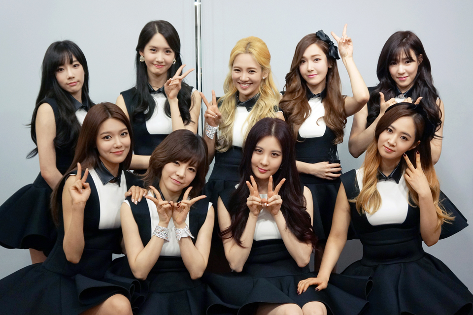 PHOTO OF GIRLS GENERATION