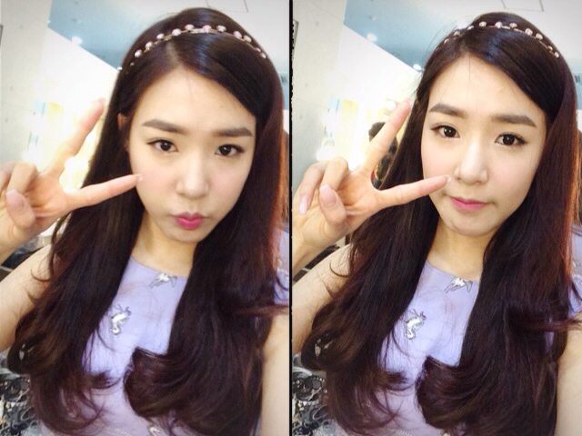 290314 tiffany snsd new selca psycho friends blog