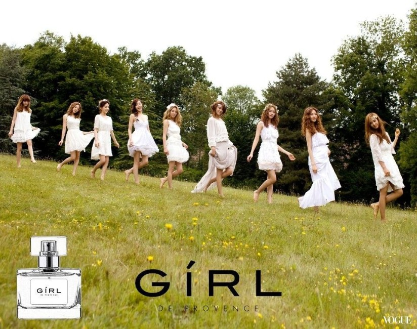 [120608] Girls' Generation (SNSD) New Picture for Twinkle & GIRL de provence CF via Vogue Taiwan Gallery [1]