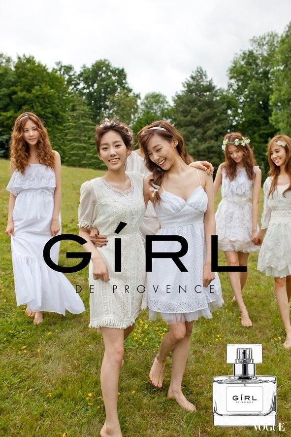 [120608] Girls' Generation (SNSD) New Picture for Twinkle & GIRL de provence CF via Vogue Taiwan Gallery [3]