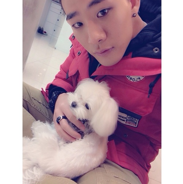 [140308] 차현승 New Selca with Prince