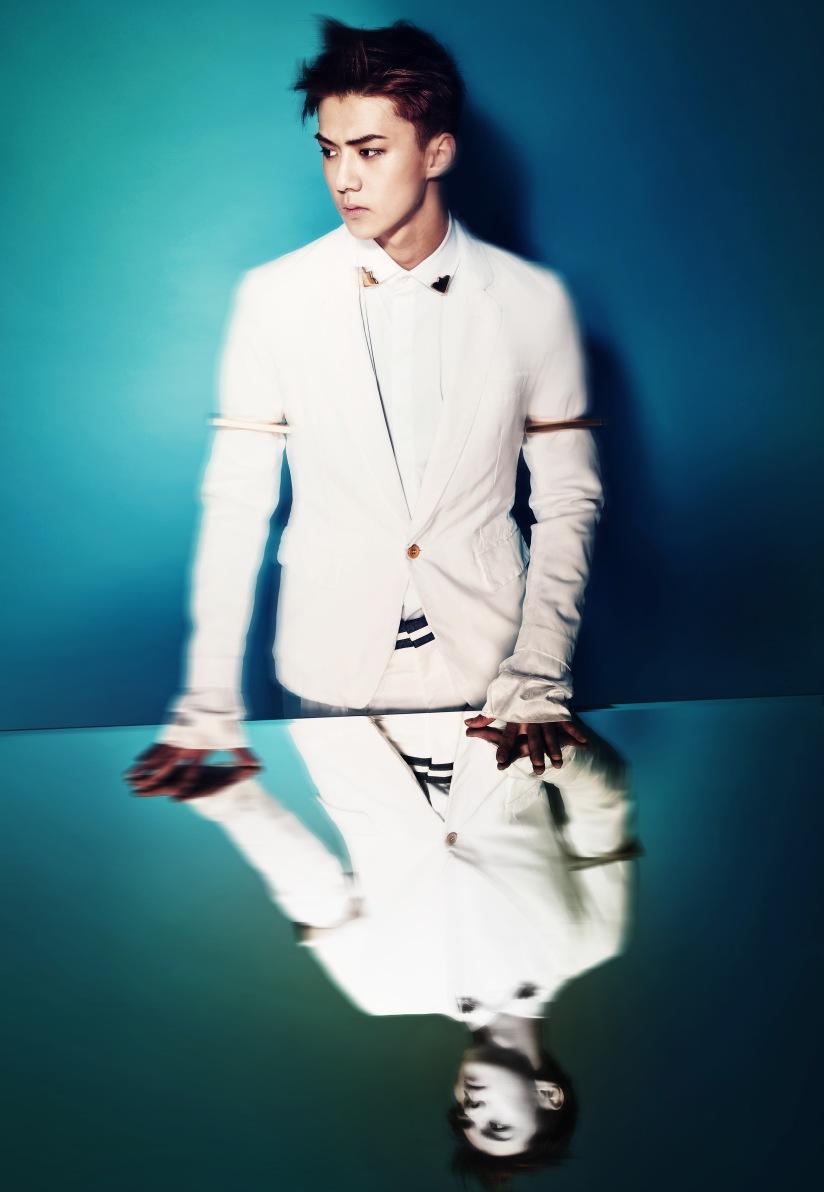[140403] Sehun (EXO) New Teaser Image for Comeback Show [3]