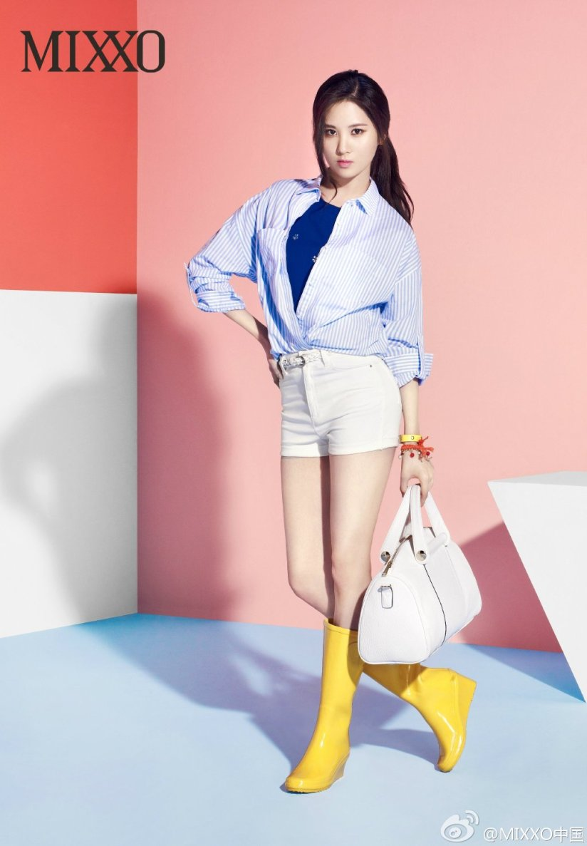 [140403] Seohyun (SNSD) New Picture for Mixxo CF