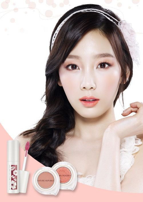 [140403] Taeyeon (SNSD) New Picture for Nature Republic CF [2]