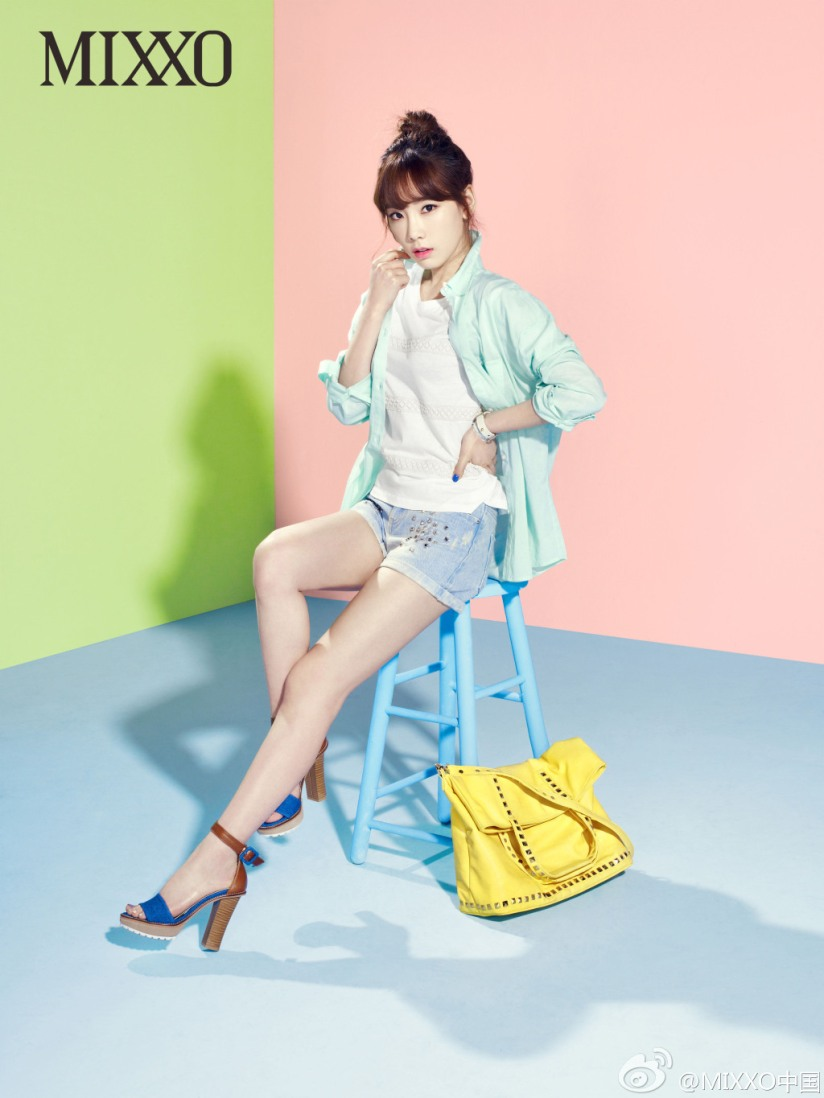 [140405] Taeyeon (SNSD) New Picture for Mixxo CF