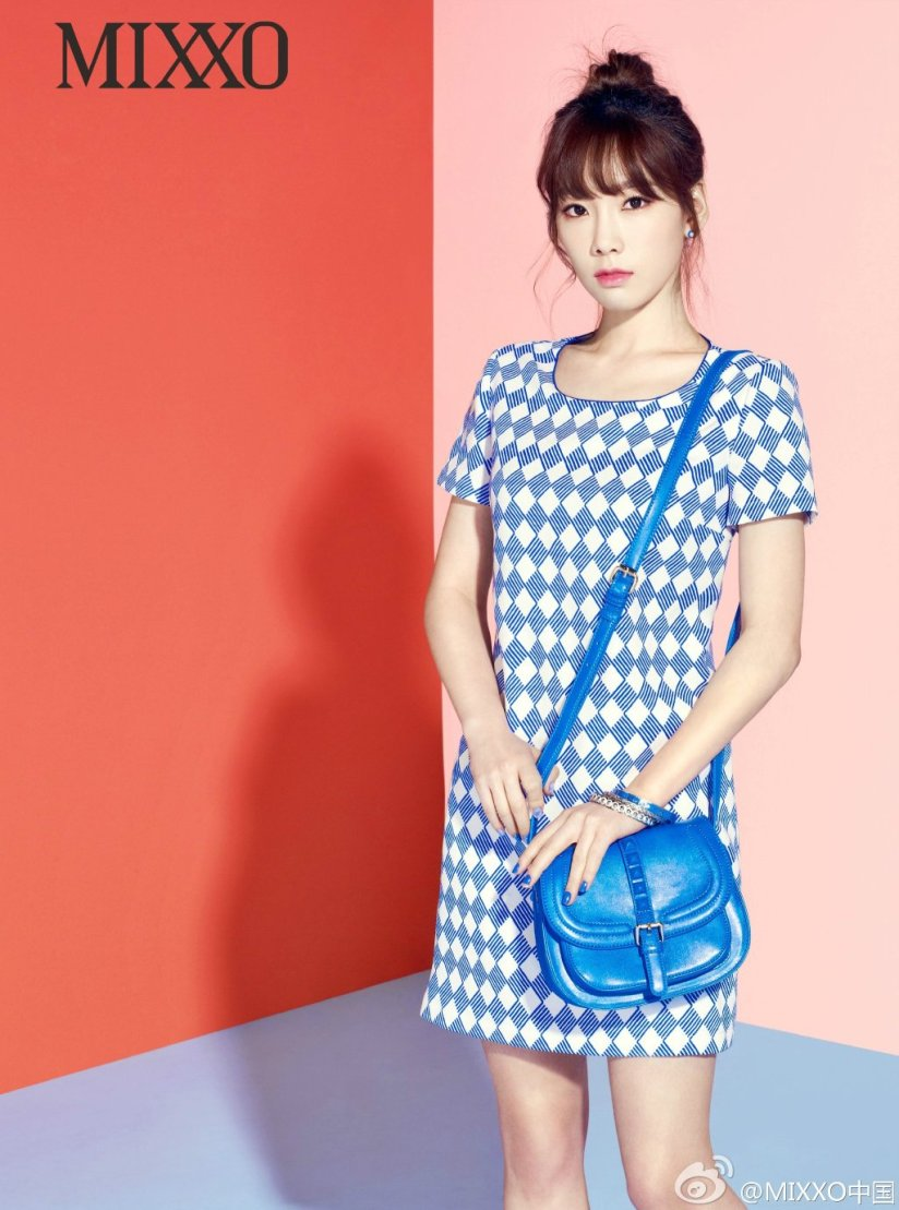 [140406] Taeyeon (SNSD) New Picture for Mixxo CF
