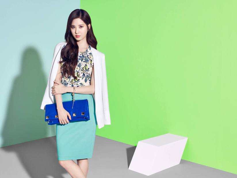 [140413] Taeyeon, Tiffany & Seohyun (SNSD) New Picture for Mixxo CF [1]