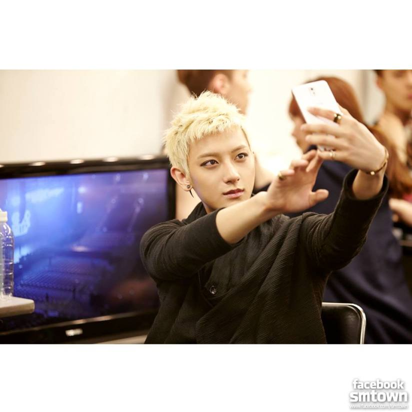 [140413] Tao (EXO) New Selca @ Greeting Party in Japan Hello! via Facebook