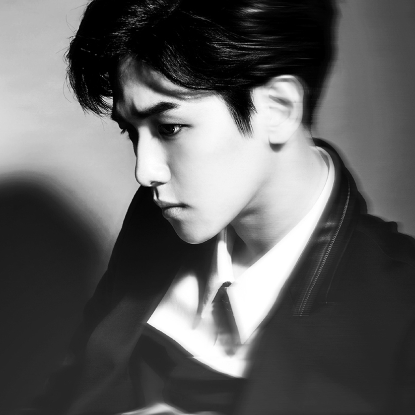 [140415] Baekhyun (EXO) New Teaser Picture for Overdose