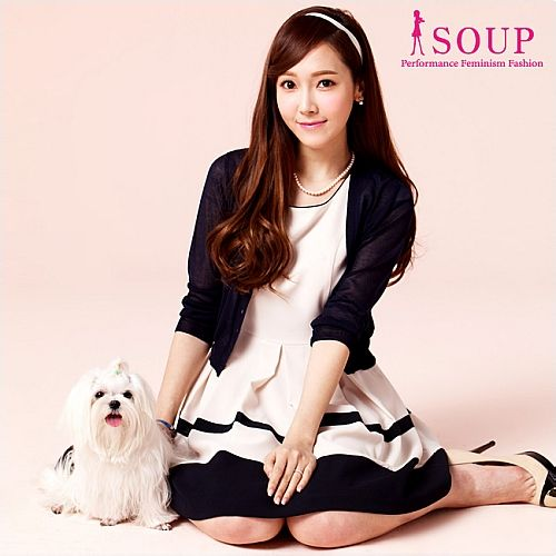 [140415] Jessica (SNSD) New Picture for SOUP CF [2]