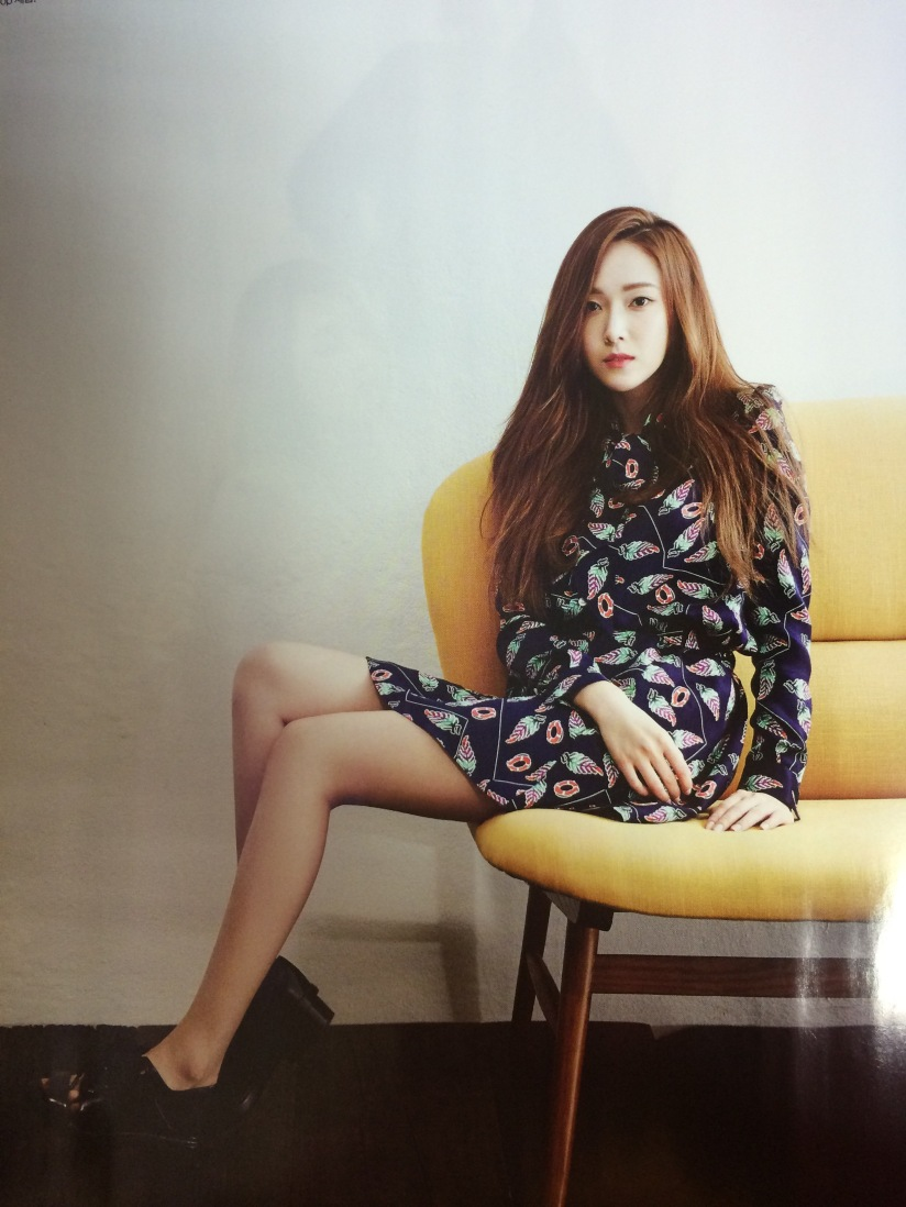 [140421] Jessica (SNSD) Preview Picture for Harper's Bazaar Magazine May Issue (Scan) by 罒JJ罒 [2]