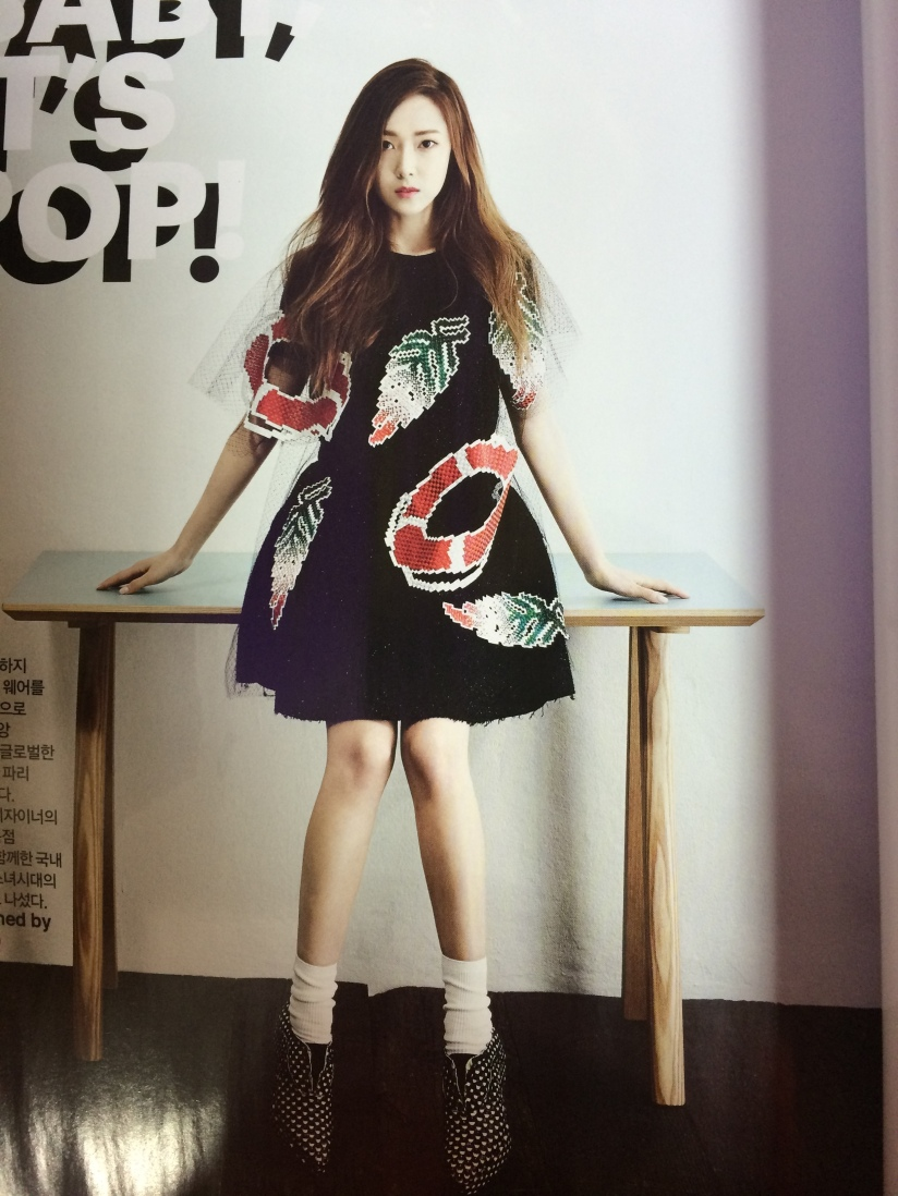 [140421] Jessica (SNSD) Preview Picture for Harper's Bazaar Magazine May Issue (Scan) by 罒JJ罒 [3]