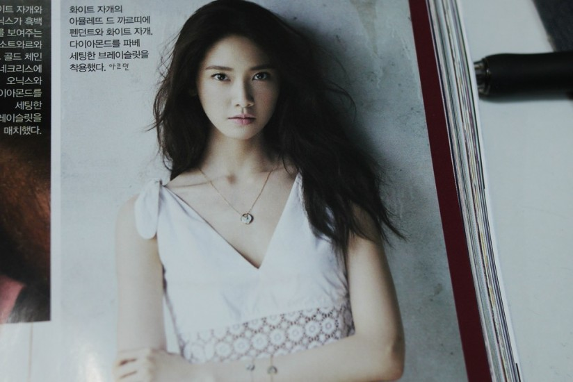 [140421] Yoona (SNSD) Preview Picture for InStyle Magazine May Issue [3]