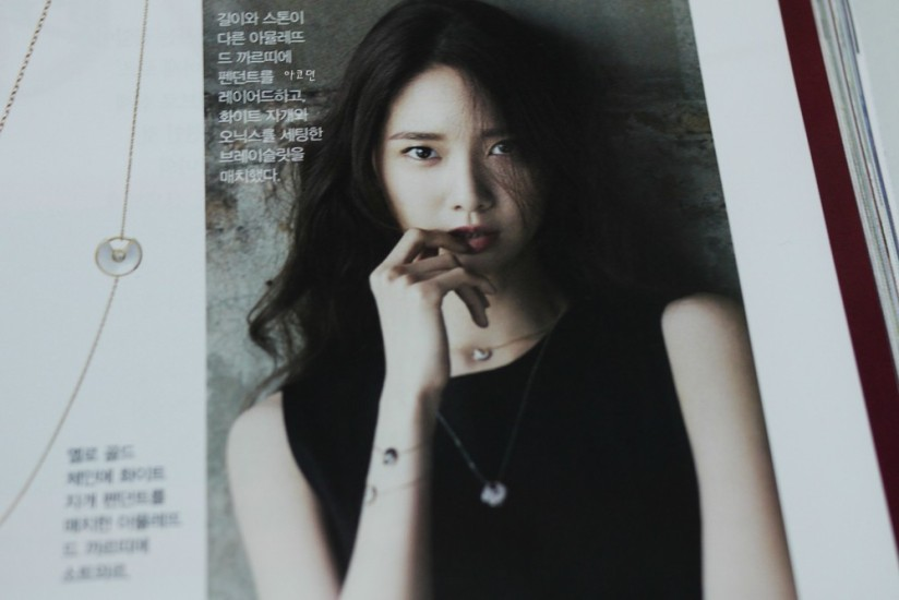 [140421] Yoona (SNSD) Preview Picture for InStyle Magazine May Issue [4]