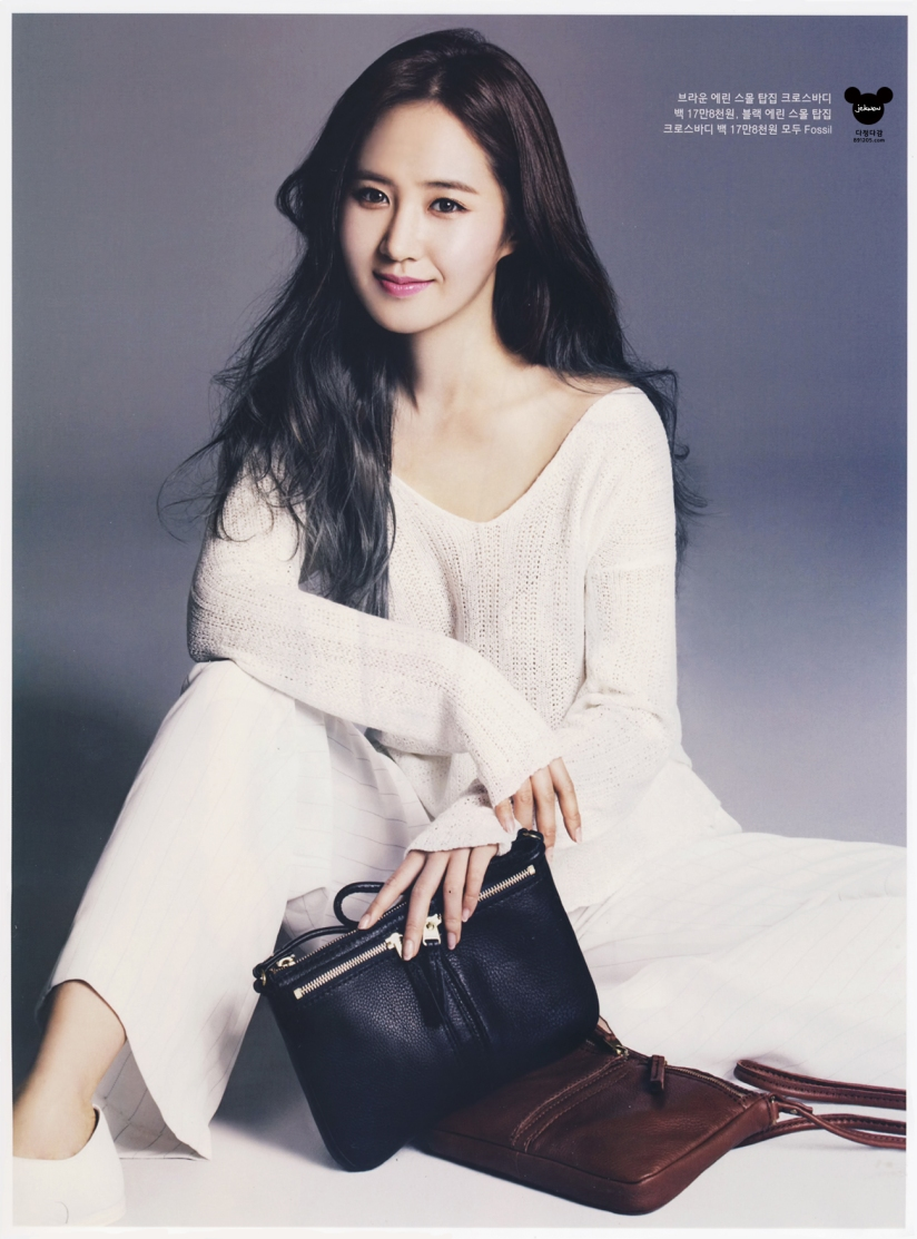 [140421] Yuri (SNSD) @ InStyle Magazine May Issue (Scan) by 891205.com [3]