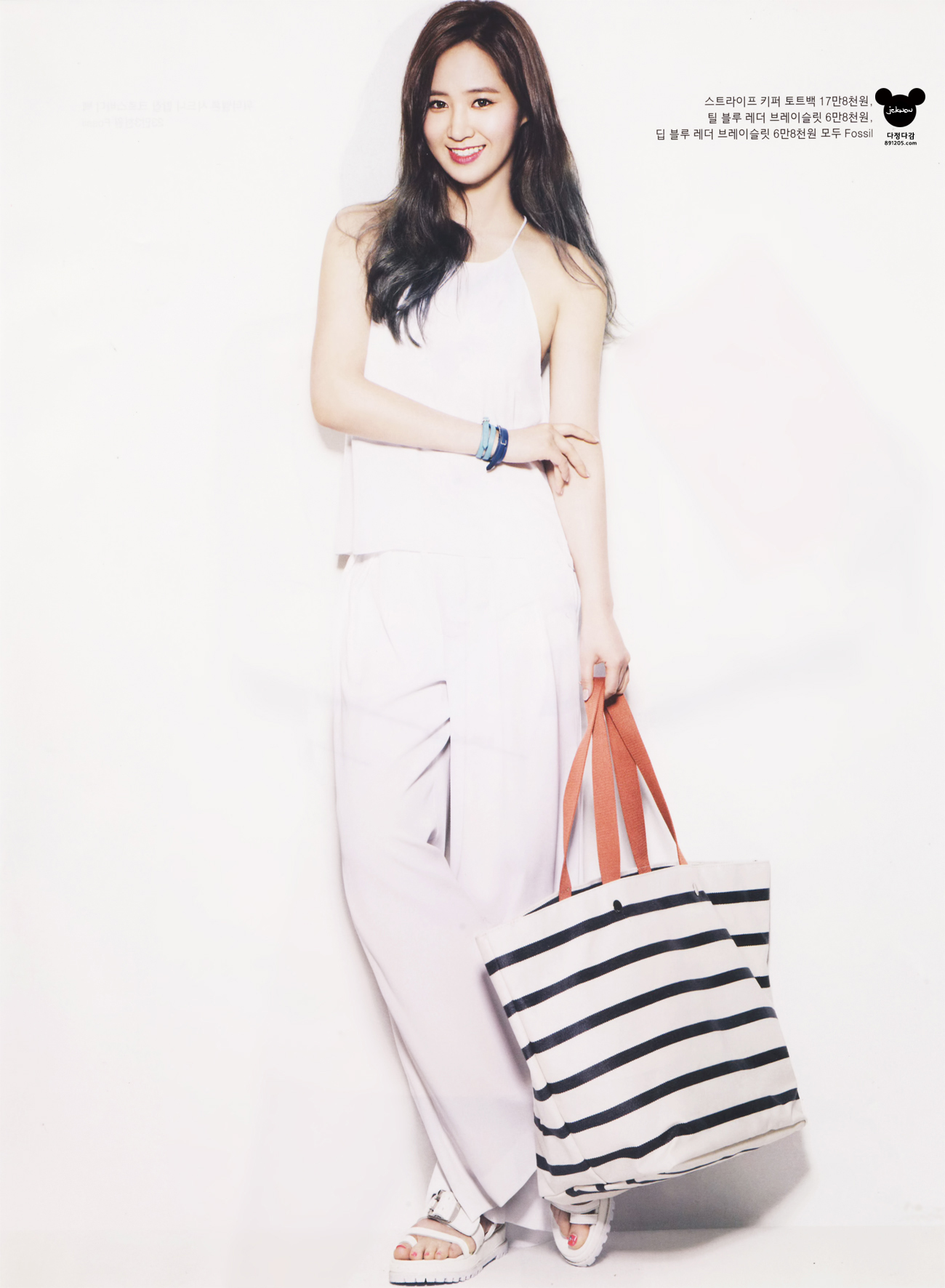 Yoona Instyle Magazine Yuri Snsd Instyle Magazine May Issue Scan By