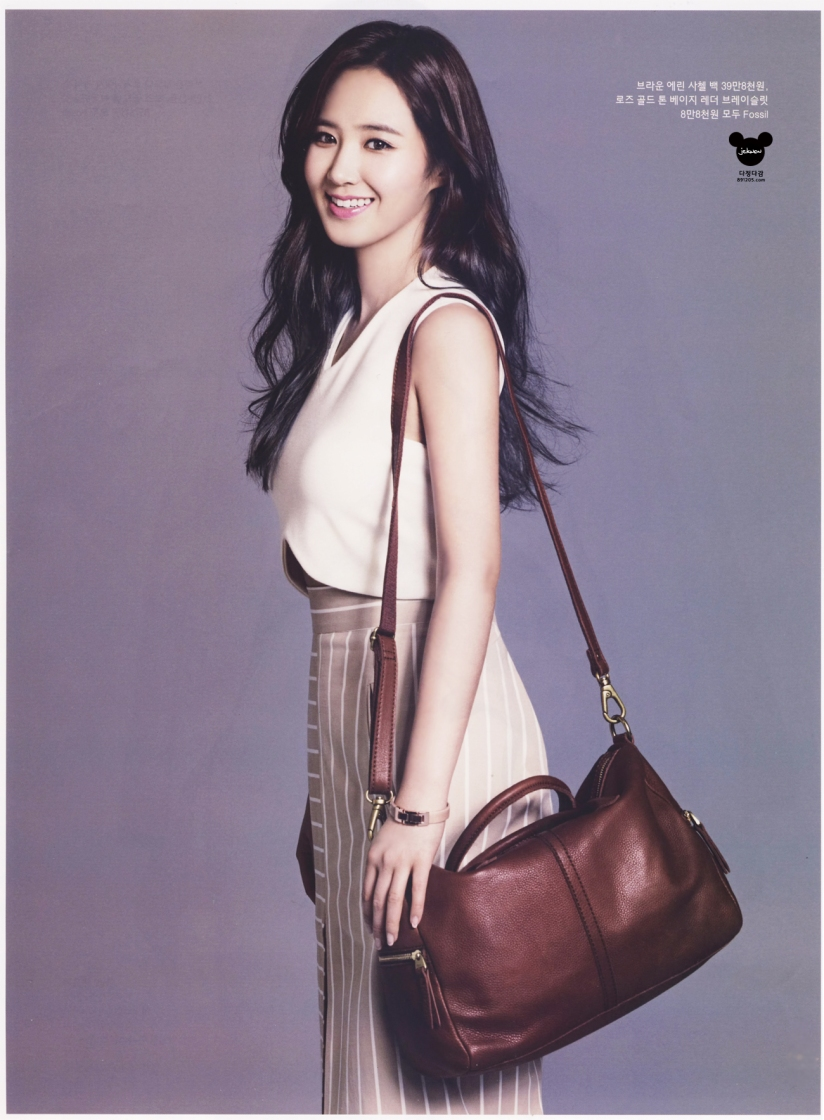[140421] Yuri (SNSD) @ InStyle Magazine May Issue (Scan) by 891205.com [6]