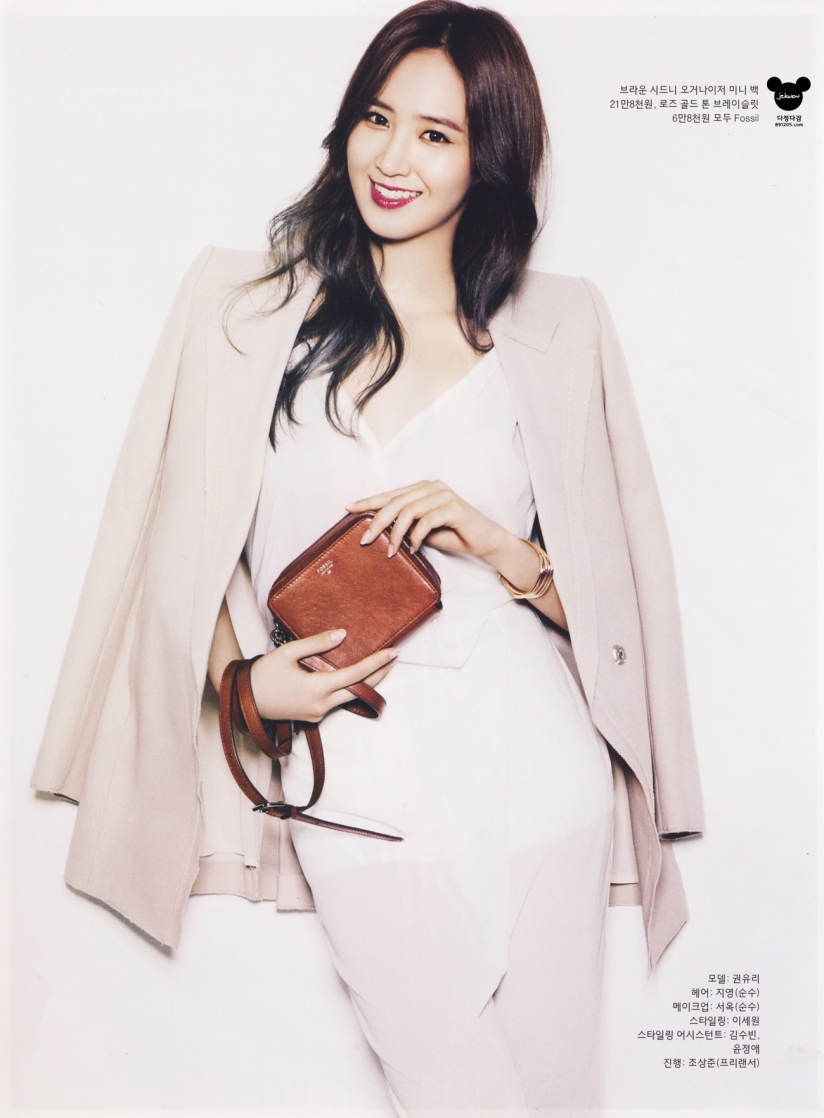 [140421] Yuri (SNSD) @ InStyle Magazine May Issue (Scan) by 891205.com [7]