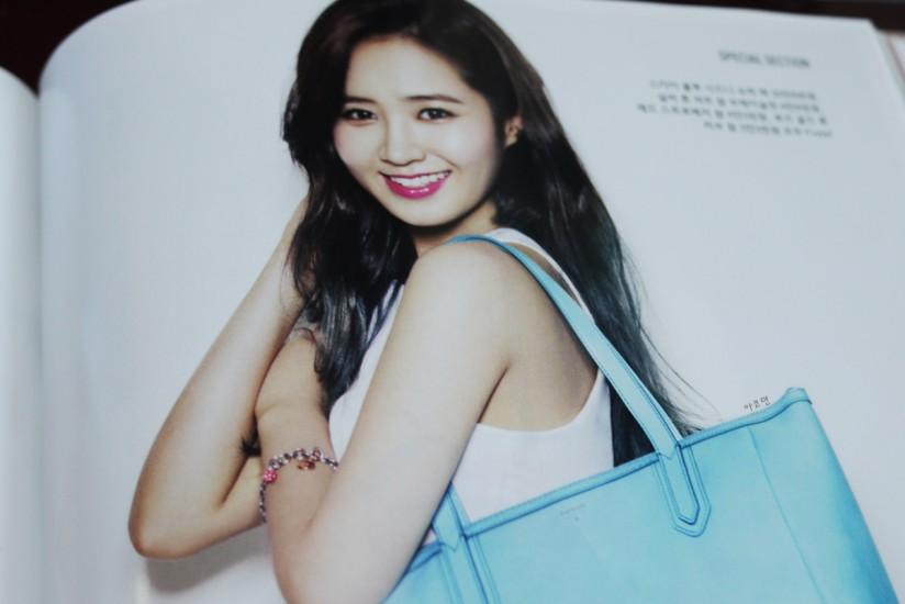 [140421] Yuri (SNSD) Preview Picture for InStyle Magazine May Issue [1]