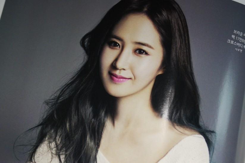 [140421] Yuri (SNSD) Preview Picture for InStyle Magazine May Issue [3]