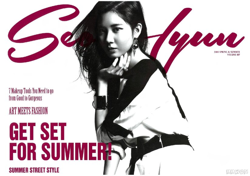 [140427] Seohyun (SNSD) for Pamphlet Girls' Generation 3rd Japan Tour (Scan) by KKWON [1]