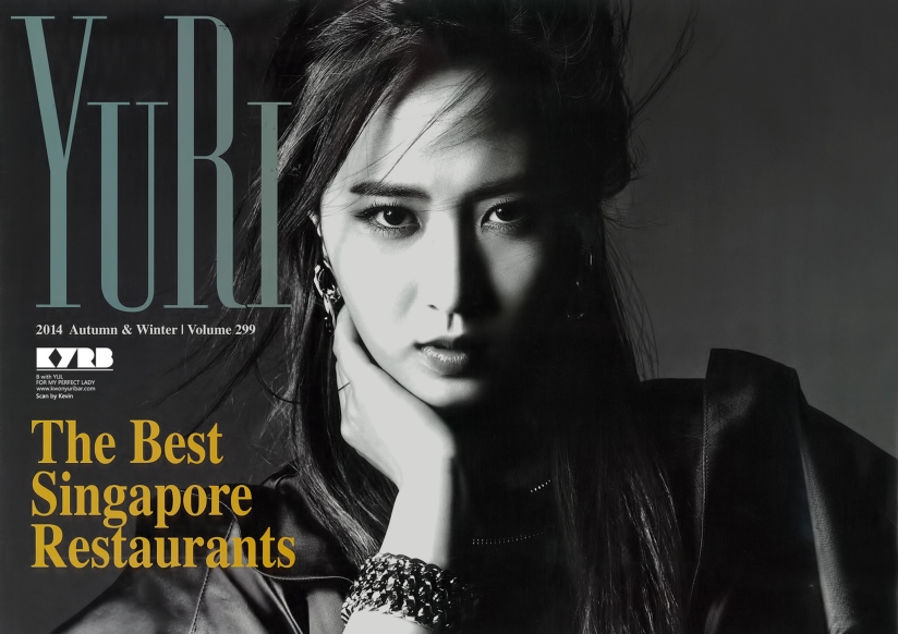 [140427] Yuri (SNSD) for Pamphlet Girls' Generation 3rd Japan Tour (Scan) by kwonyuribar.com [1]