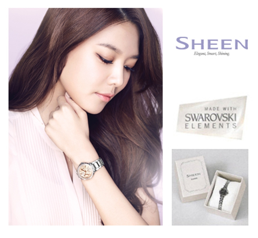 [140428] Sooyoung (SNSD) New Picture for Casio SHEEN CF (copy)