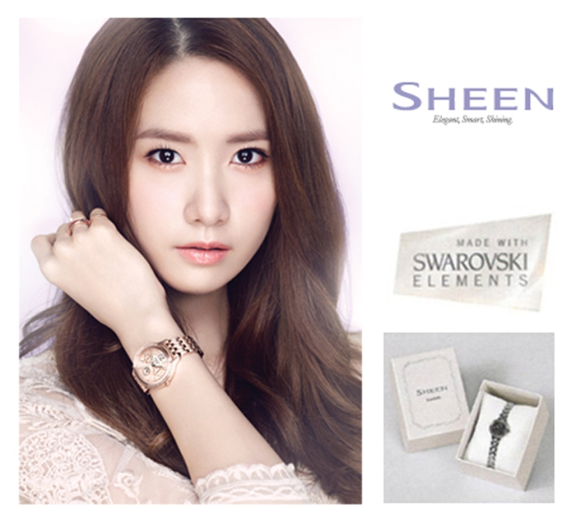 [140428] Yoona (SNSD) New Picture for Casio SHEEN CF (copy)