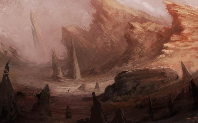 Gurun di Pegunungan