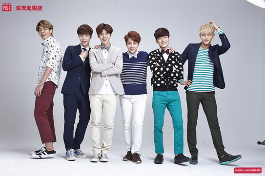 [140506] EXO-M New Picture for Lotte Duty Free CF [1]