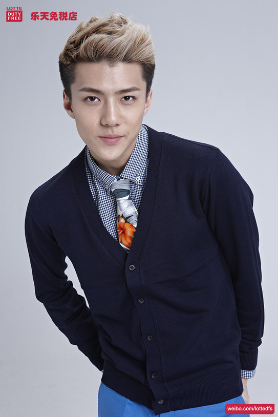 [140506] Sehun (EXO) New Picture for Lotte Duty Free CF