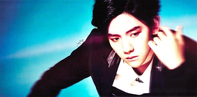 [140507] Baekhyun (EXO) for Overdose Album (Scan) by jung hwye [2]