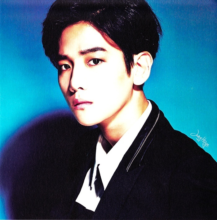 [140507] Baekhyun (EXO) for Overdose Album (Scan) by jung hwye [3]