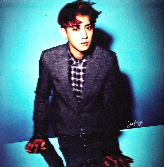 [140507] Chanyeol (EXO) for Overdose Album (Scan) by jung hwye [3]