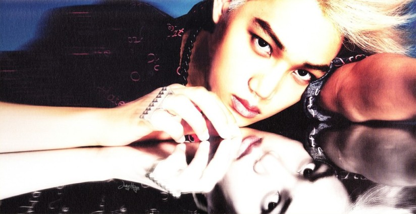 [140507] Kai (EXO) for Overdose Album (Scan) by jung hwye [1]