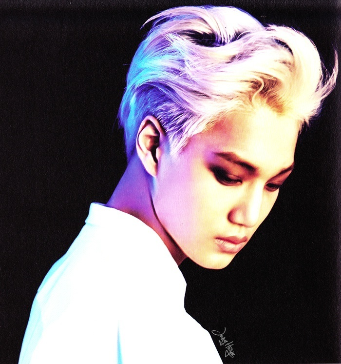 [140507] Kai (EXO) for Overdose Album (Scan) by jung hwye [3]