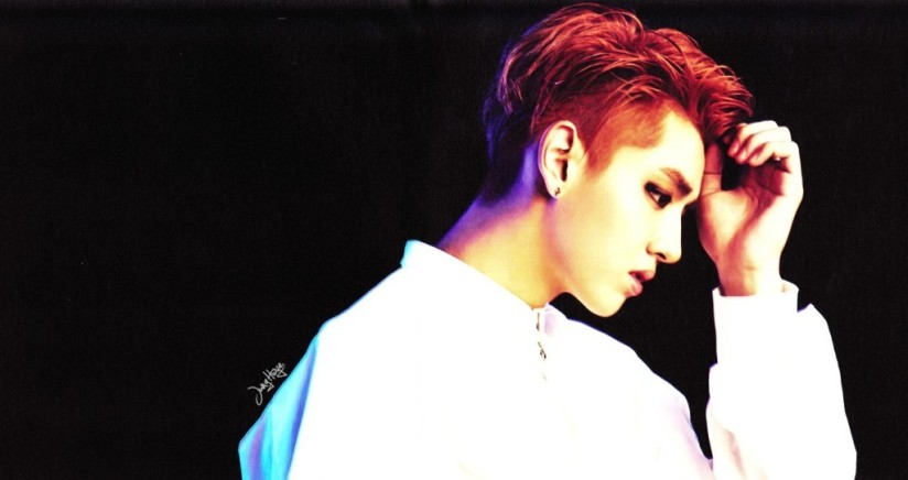 [140507] Kris (EXO) for Overdose Album (Scan) by jung hwye [4]