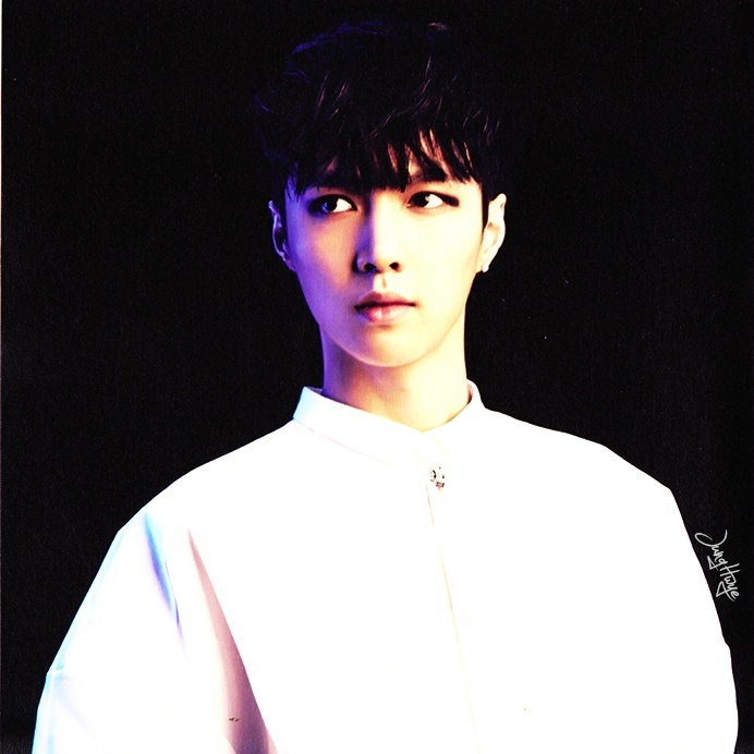 [140507] Lay (EXO) for Overdose Album (Scan) by jung hwye [5]