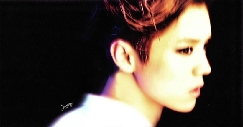 [140507] Luhan (EXO) for Overdose Album (Scan) by jung hwye [4]