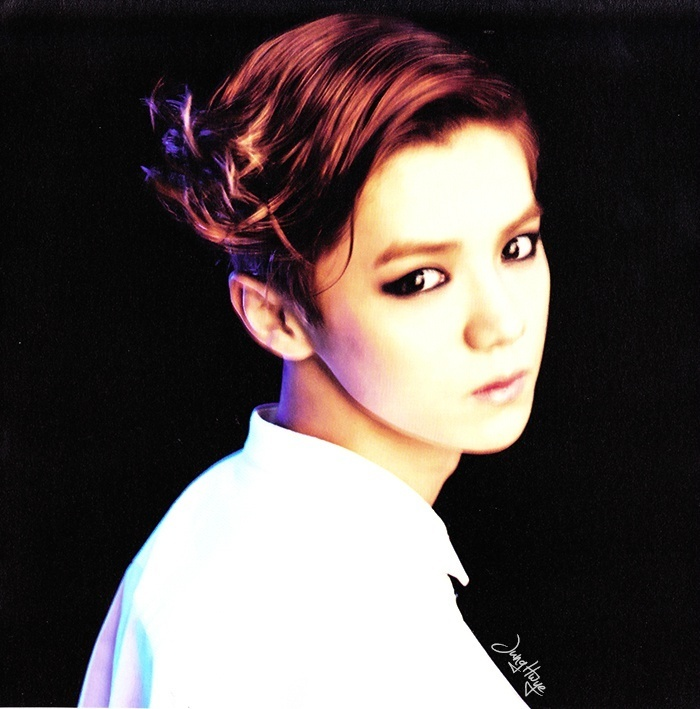 [140507] Luhan (EXO) for Overdose Album (Scan) by jung hwye [5]