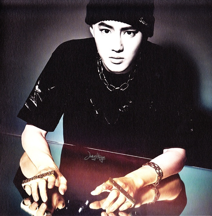 [140507] Suho (EXO) for Overdose Album (Scan) by jung hwye [2]