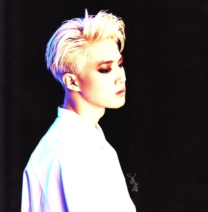 [140507] Suho (EXO) for Overdose Album (Scan) by jung hwye [3]