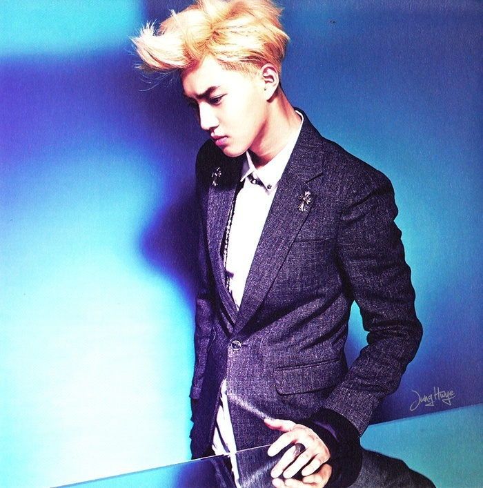 [140507] Suho (EXO) for Overdose Album (Scan) by jung hwye [4]