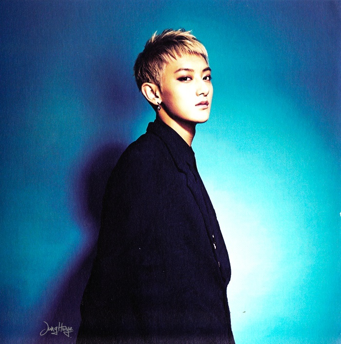 [140507] Tao (EXO) for Overdose Album (Scan) by jung hwye [1]