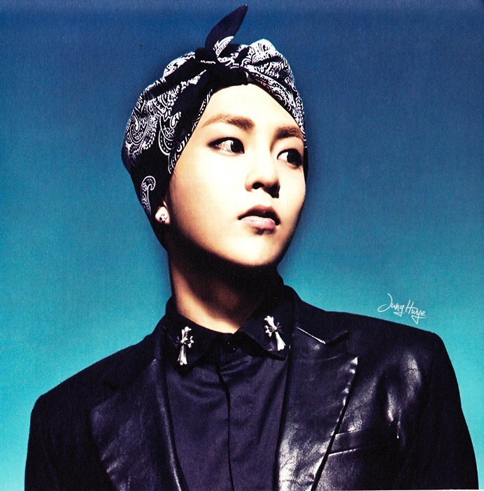 [140507] Xiumin (EXO) for Overdose Album (Scan) by jung hwye [3]