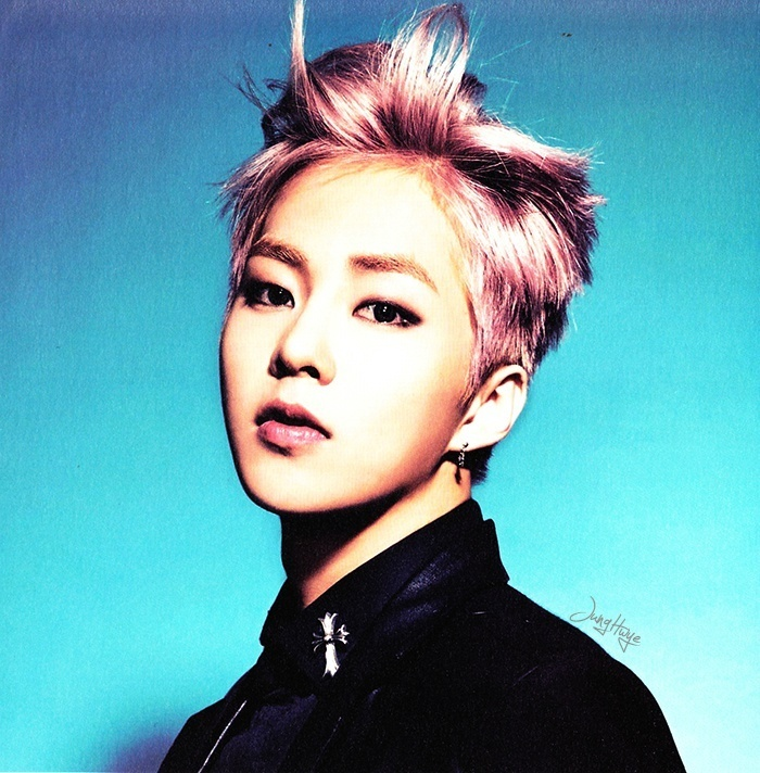 [140507] Xiumin (EXO) for Overdose Album (Scan) by jung hwye [5]