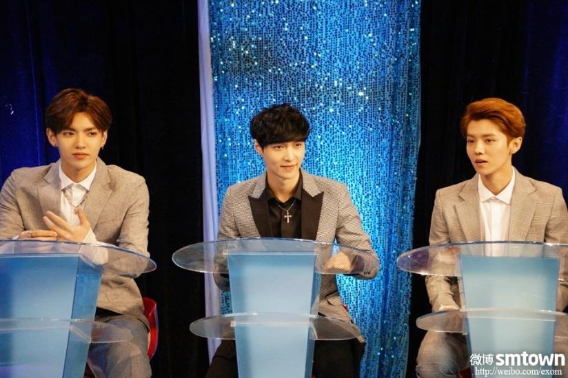 [140508] Kris, Lay and Luhan @ Entertainment Star World  (娱乐星天地 ) [4]