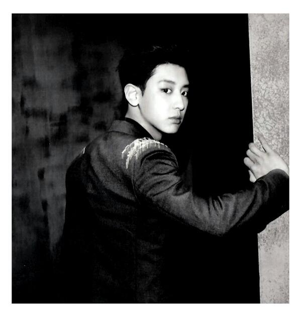 [140509] Chanyeol (EXO) New Picture for Overdose Polarioid Picture (Scan) by manapia12 [1]