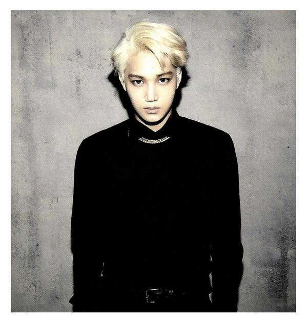 [140509] Kai (EXO) New Picture for Overdose Polarioid Picture (Scan) by manapia12 [1]